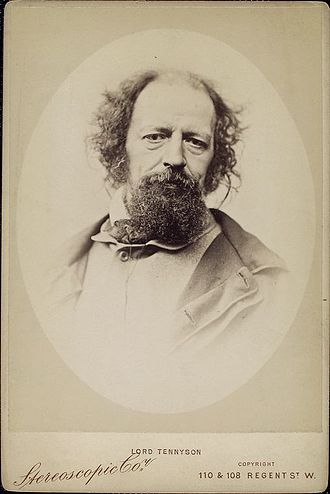 Alfred, Lord Tennyson in middle age
