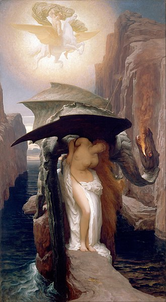 Perseus and Andromeda, by Frederic Leighton