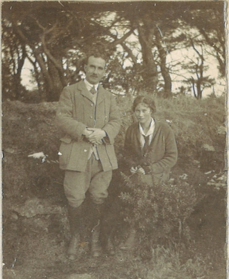 Cyril Rootham and Enid Paddison