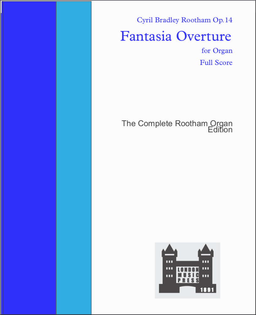 Op.14 Fantasia Overture in D minor - London Music Press Edition