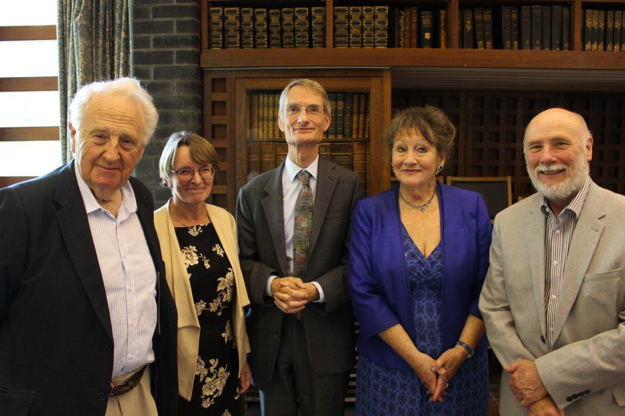 Elgar Society Meeting at Trinity College, Oxford