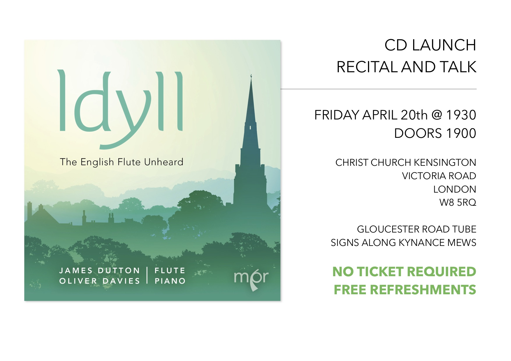 CD Launch and Concert on 20 April 2018