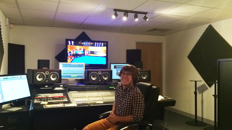 James Holliss at Institute of Sound Recording, University of Surrey