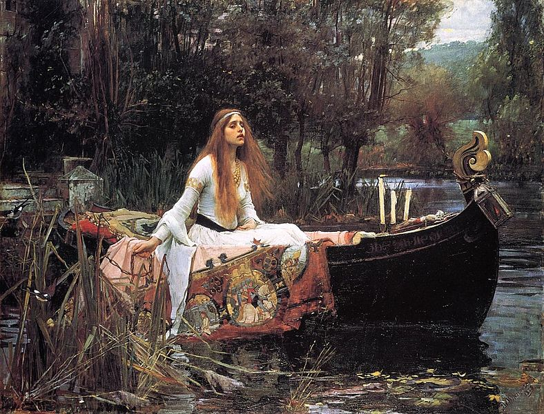 The Lady of Shalott (1888) by Waterhouse